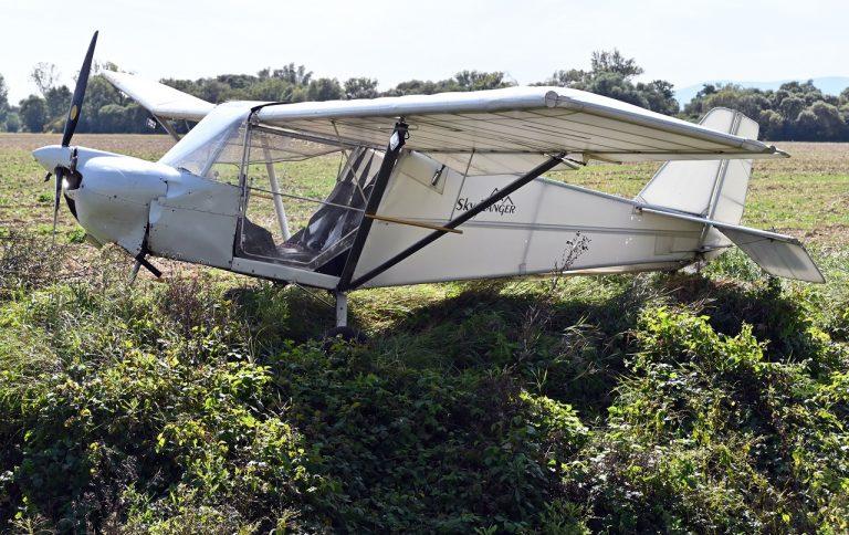 ultraľahké neoznačené lietadlo