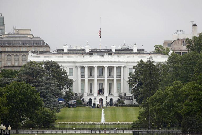 biely dom, usa