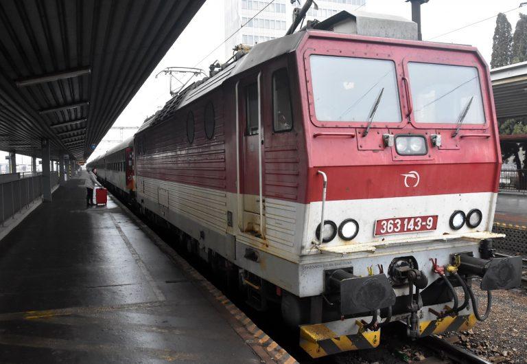 mimoriadny vlak Košice Bratislava