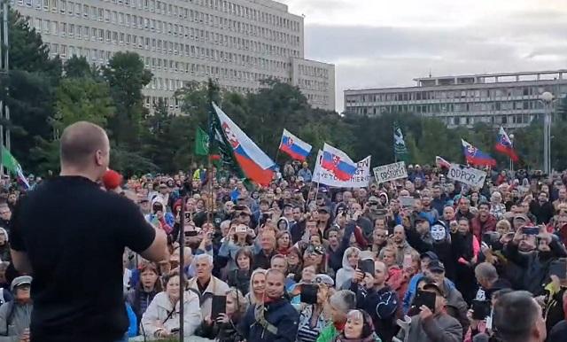 protesty Matovič