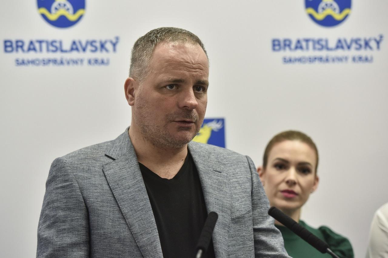 predseda Bratislavského samosprávneho kraja Juraj Droba