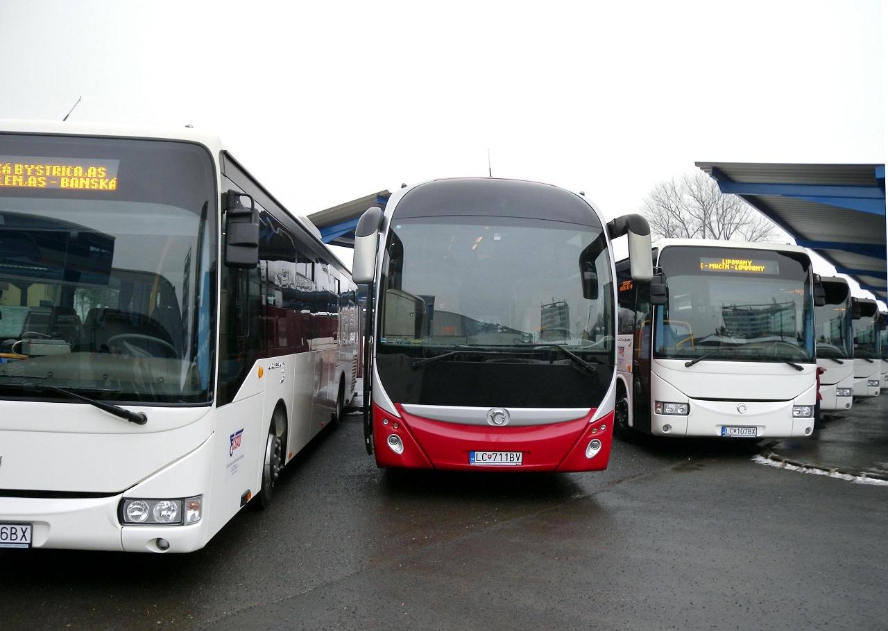nové autobusy SAD