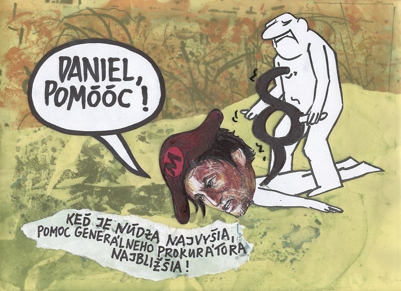 Karikatúra Andrej Mišanka