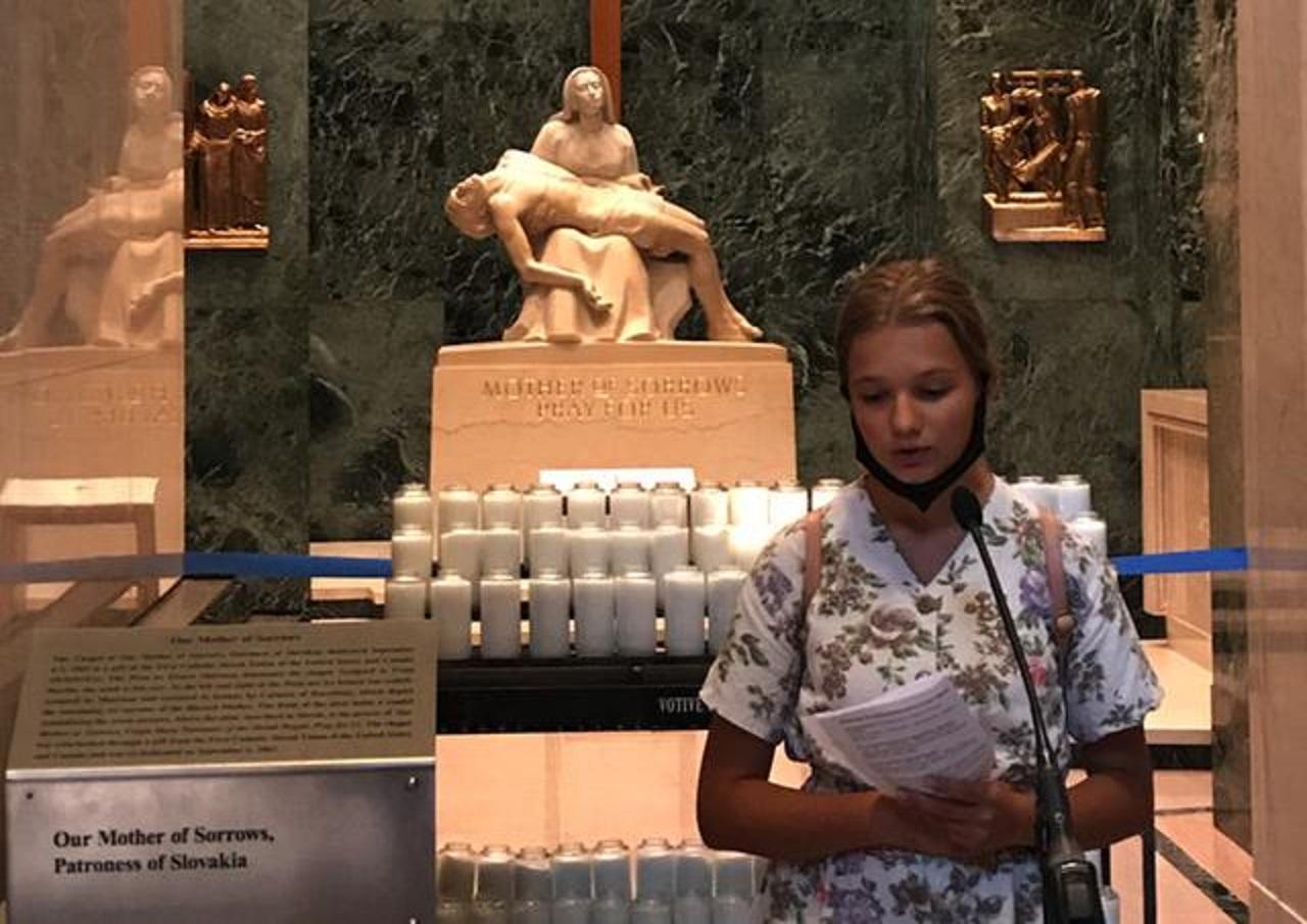 Sedembolestnú Pannu Máriu oslávili Slováci žijúci v Spojených štátoch