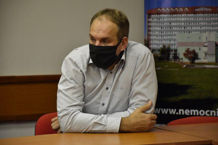 odchádzajúci riaditeľ popradskej nemocnice Anton Hanušín