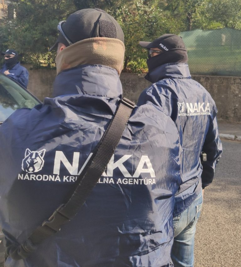 NAKA zasahuje proti korupcii na viacerých miestach v Bratislave