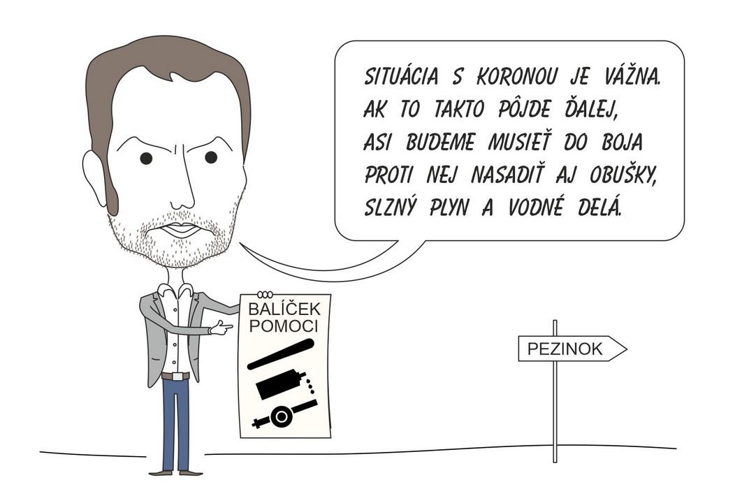karikatúra, Ivan Lehotský