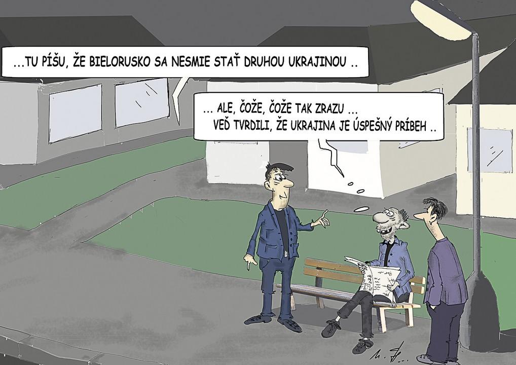 karikatúra, Miro Havlíček