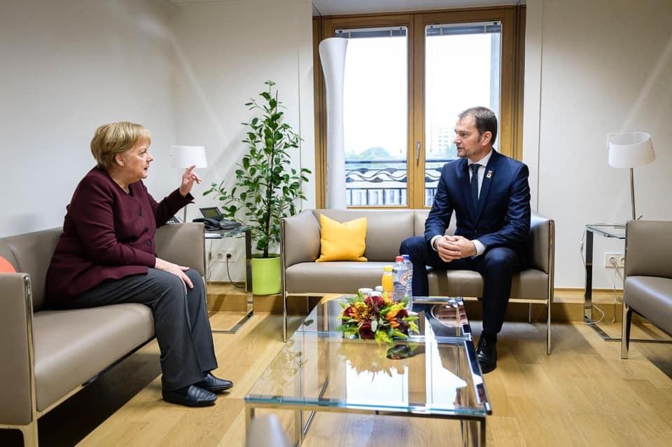 Merkelová, Matovič