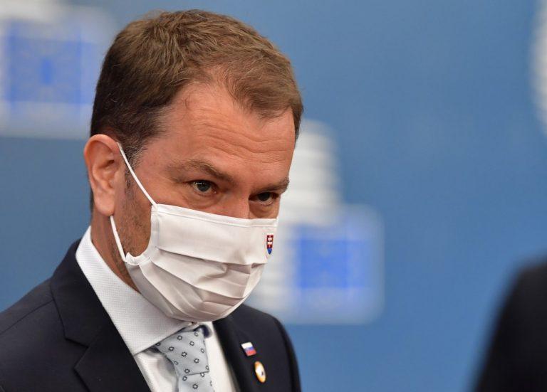 Igor Matovič, premiér, Slovensko, Brusel