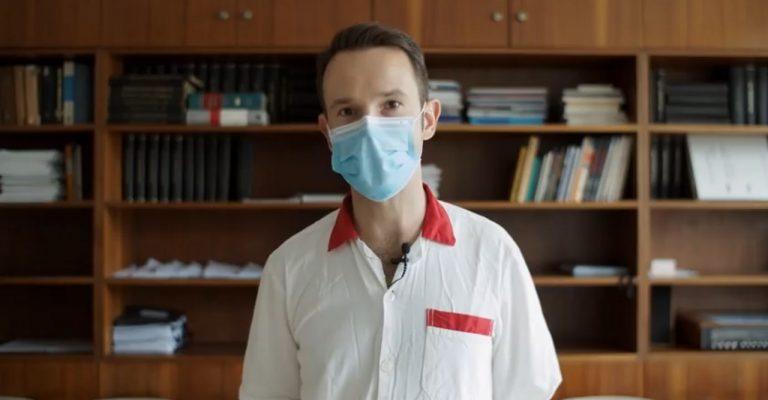 Peter Sabaka, lekár, pacienti, vakcína