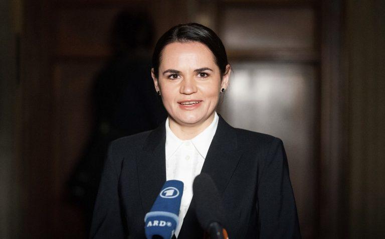 Sviatlana Cichanovská, Bielorusko, opozícia