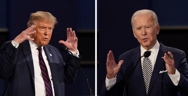 Donald Trump, Joe Biden, voľby, prezident, USA