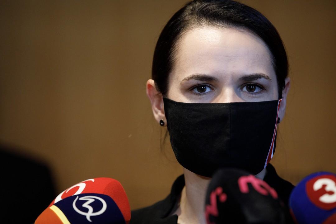 Sviatlana Cichanovská, Bieloruska, opozícia