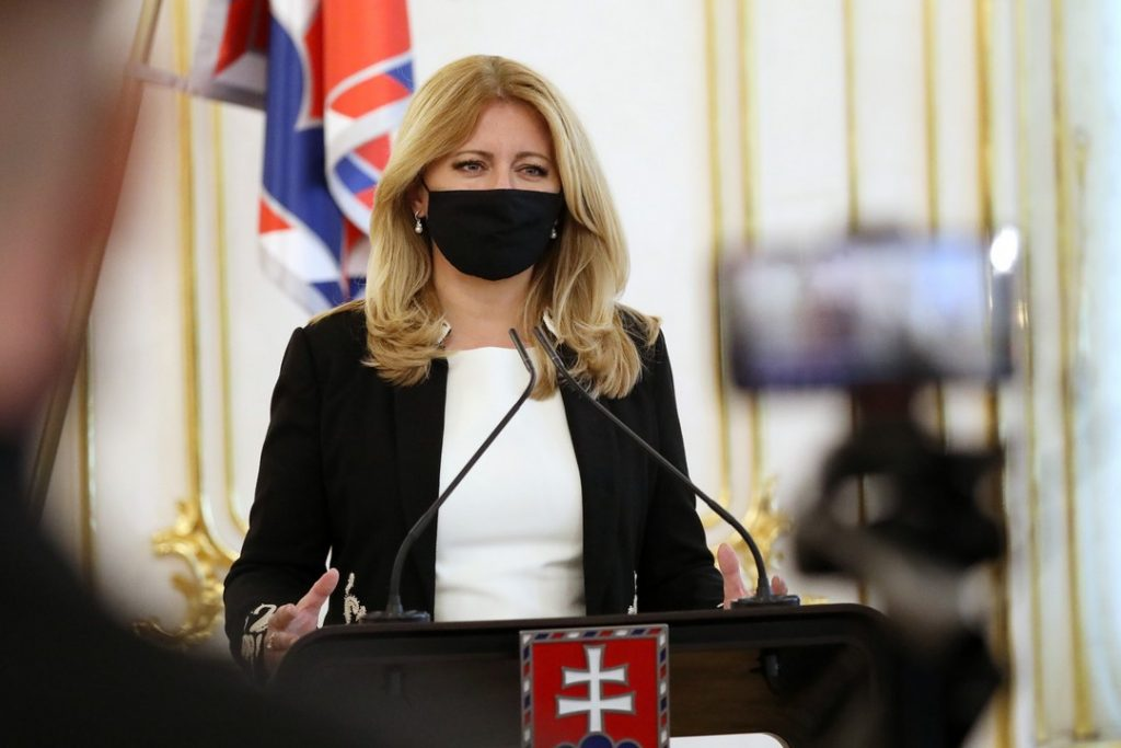 Zuzana Čaputová, prezidentka, opatrenia