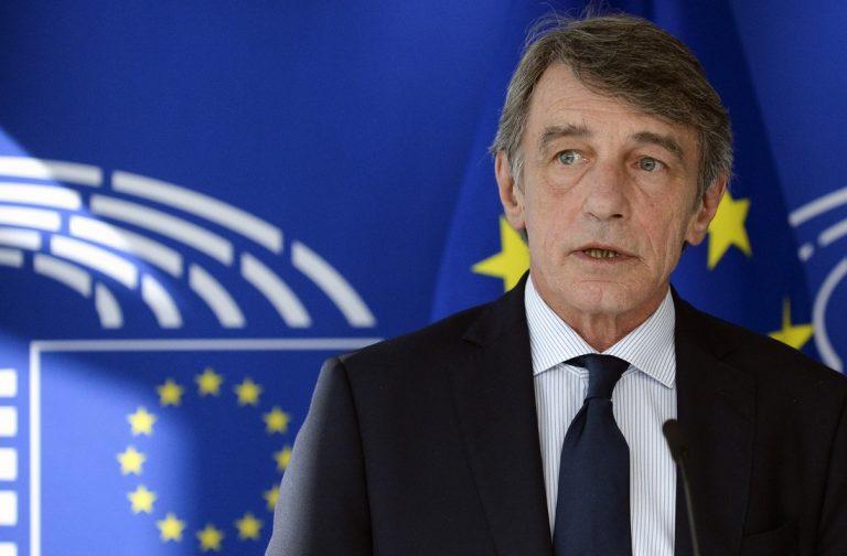 David Sassoli, predseda, EP