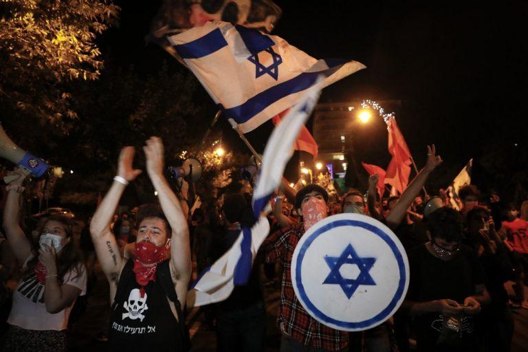 Izrael, vláda, protesty