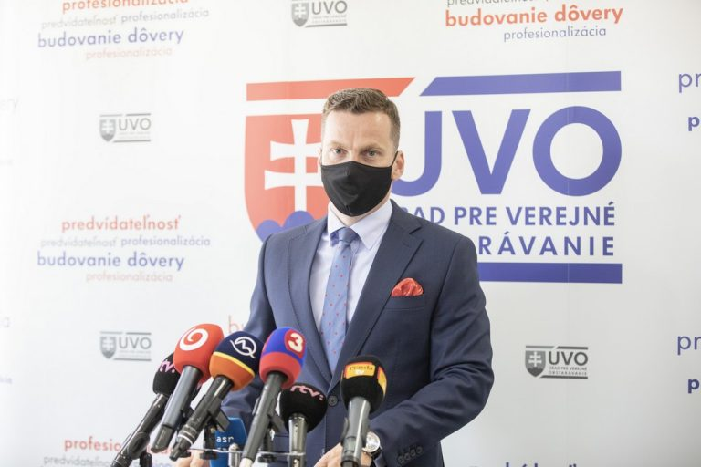 Miroslav Hlivák, predseda, ÚVO, kontrola