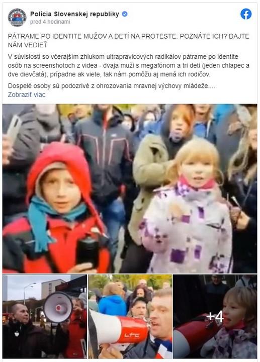 protest, polícia, rodičia, hľadanie