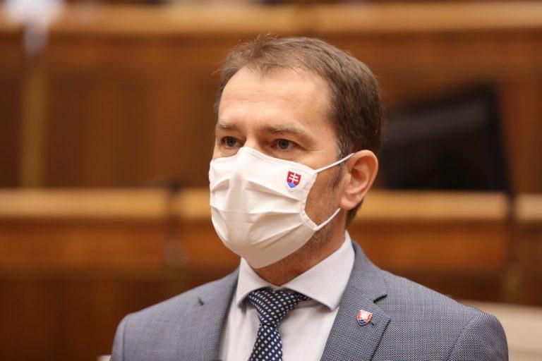 Igor Matovič, premiér, testovanie