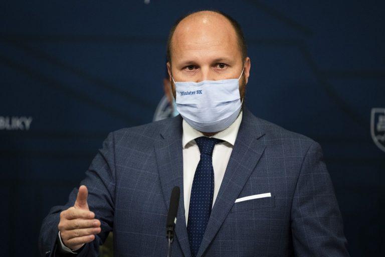 Jaroslav Naď, minister, plošné testovanie