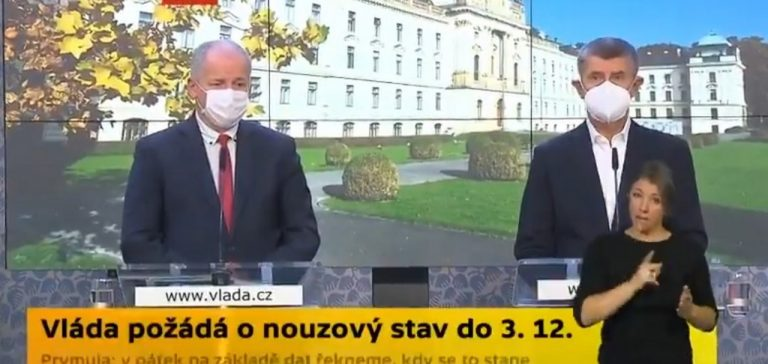 Andrej Babiš, Roman Prymula, Česko