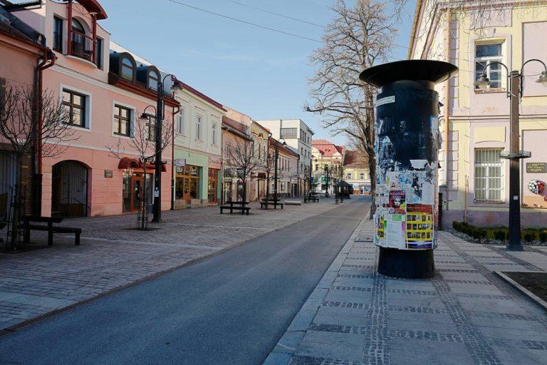 Slovensko, záchaz, vychádzanie