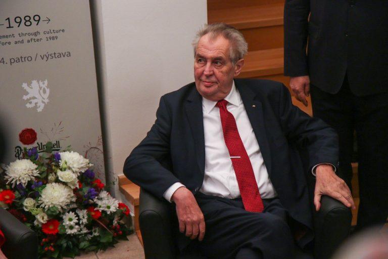 Miloš Zeman, prezident, Česko