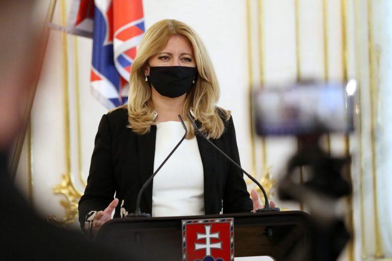Zuzana Čaputová, prezidentka, Slovensko