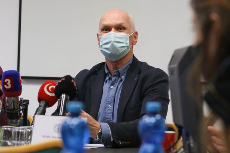 Slovenská lekárska komora , reakcia, vyjadrenie, Igor Matovič