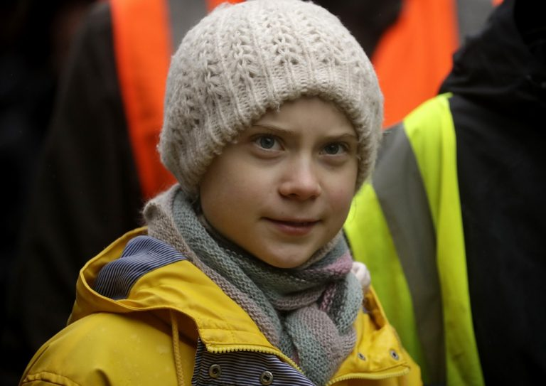 Greta Thunbergová, klíma, aktivistka