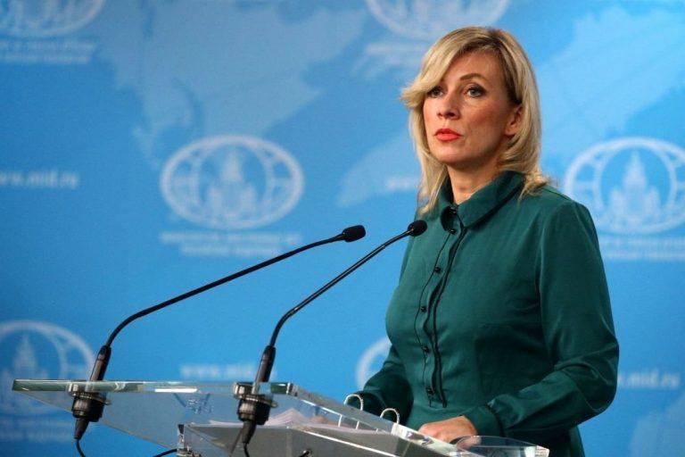 Marija Zacharovová, hovorkyňa, Rusko, diplomacia