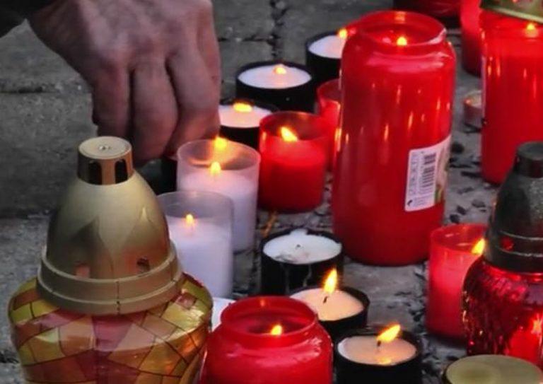 cintorín, sviečky, dušičky
