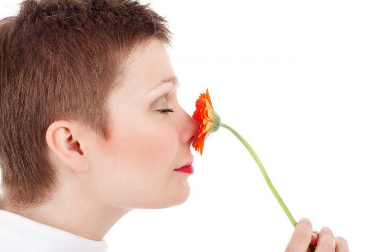 čuch, nos, žena