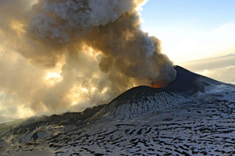 vulkán Ploskij Tolbačik