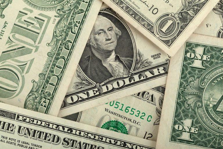 dolár bankovky