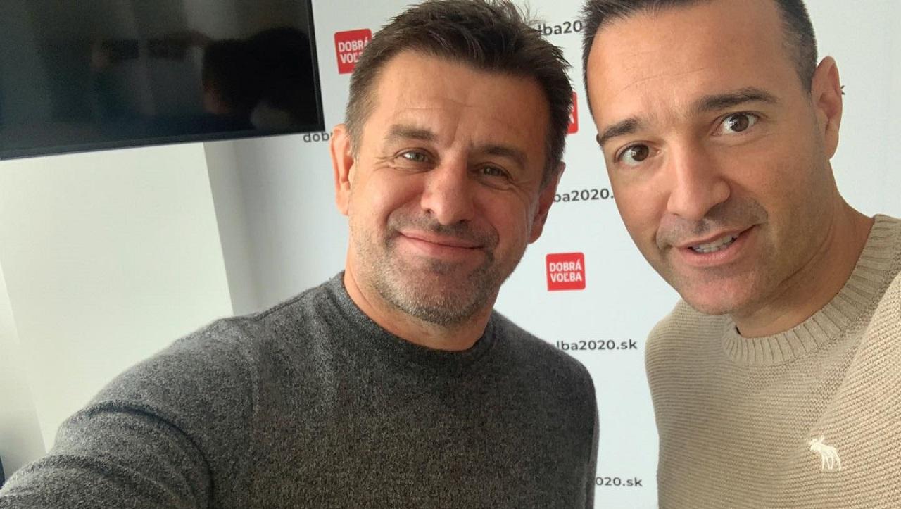 László Sólymos (Most-Híd) a Tomáš Drucker (Dobrá voľba)
