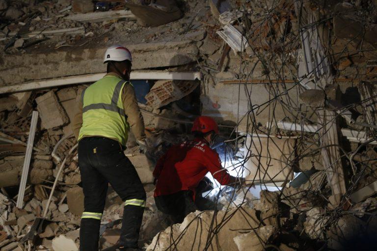 Turecko zemetrasenie