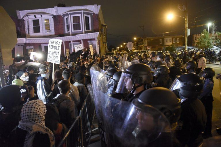 Philadelphia protest
