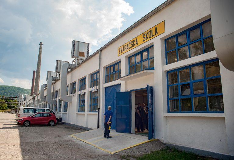 Otvorenie novej Zváračskej školy v Detve