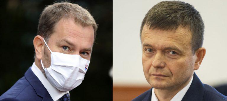 Igor Matovič a Jaroslav Haščák