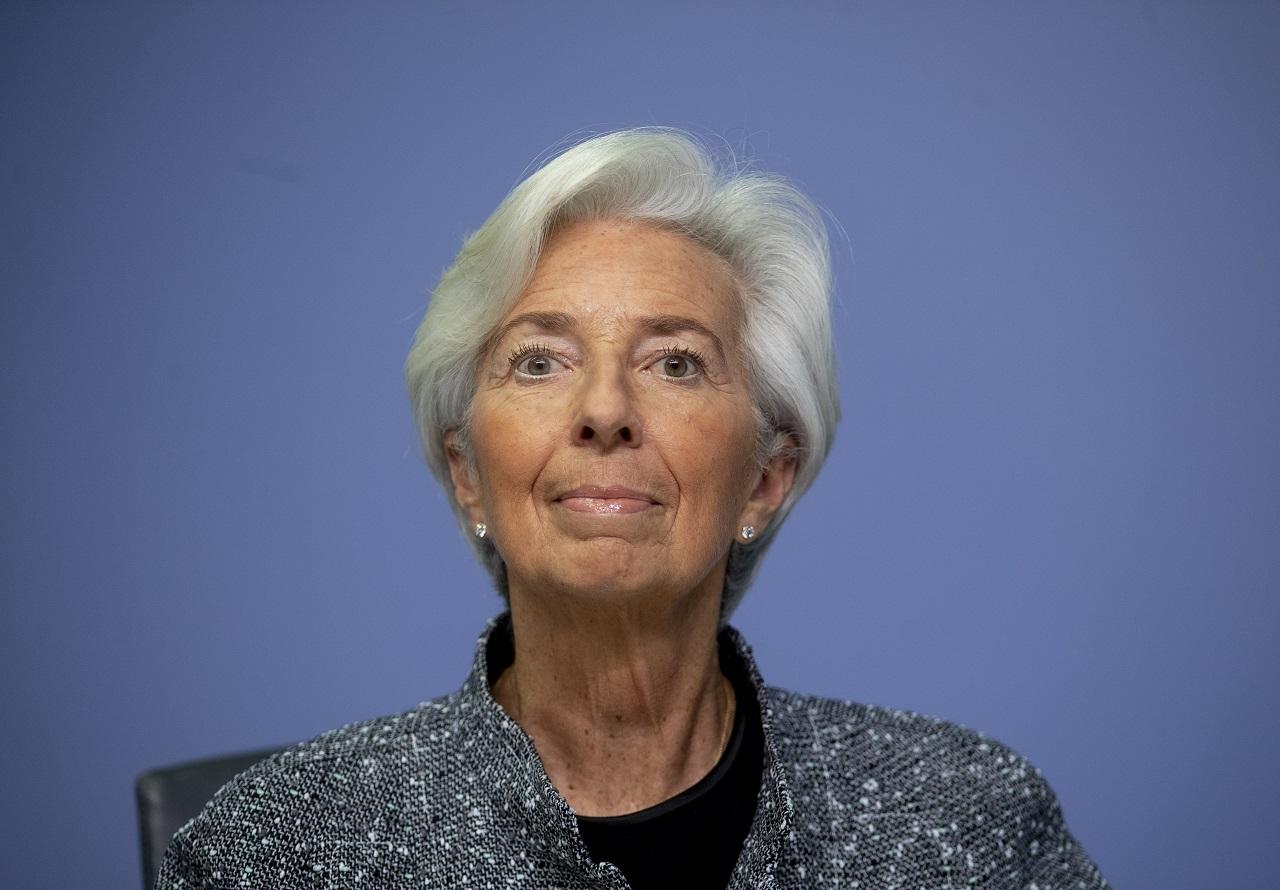 Christine Lagardová Európska centrálna banka ECB