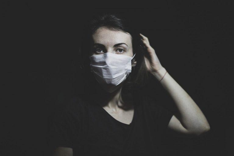 rúško, koronavírus