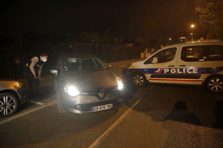 francúzski policajti