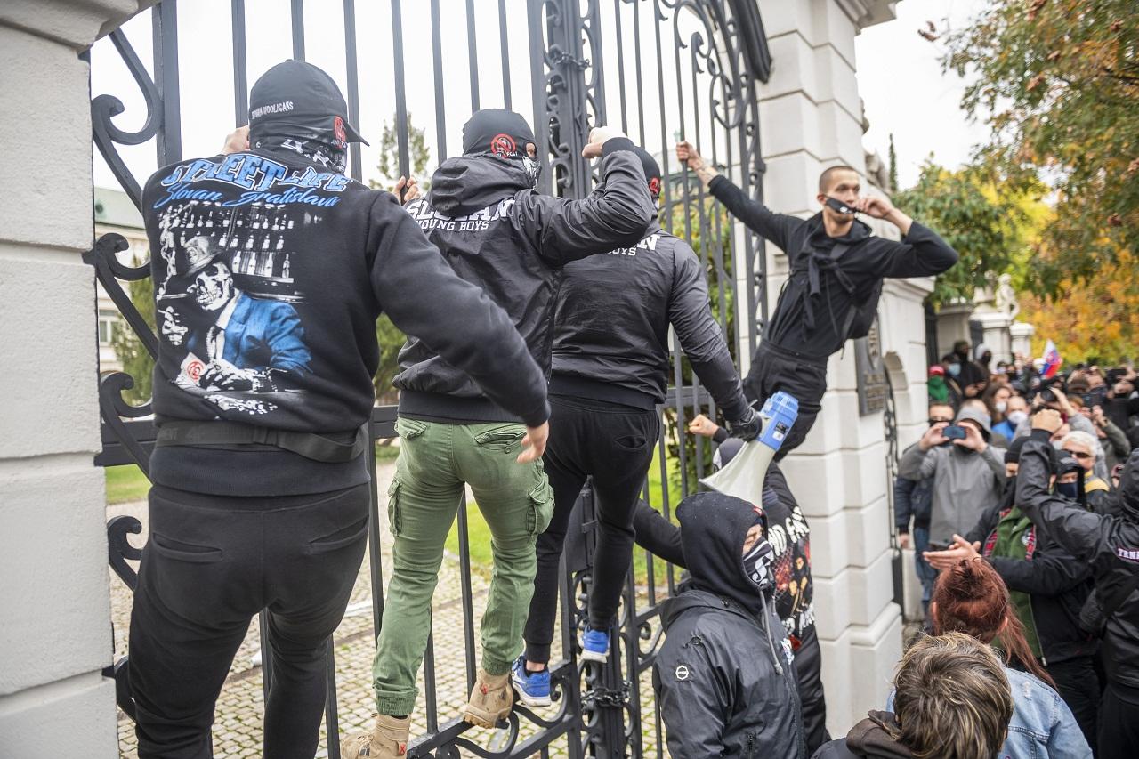 protivládny protest