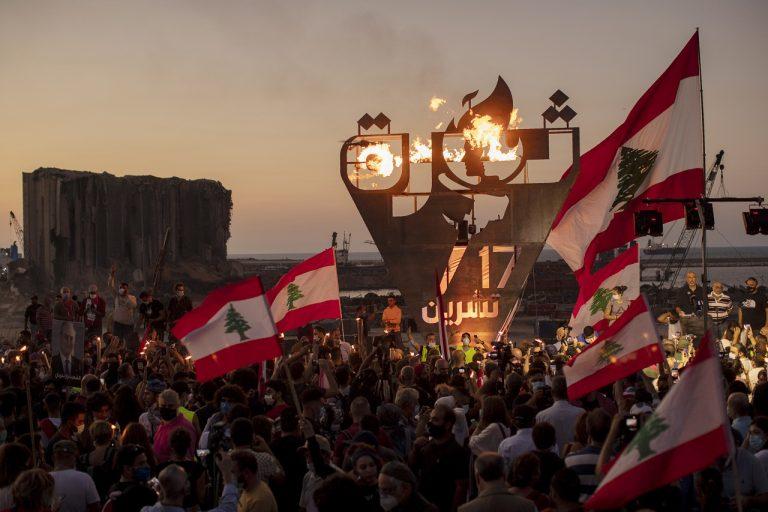 Protesty v Libanone