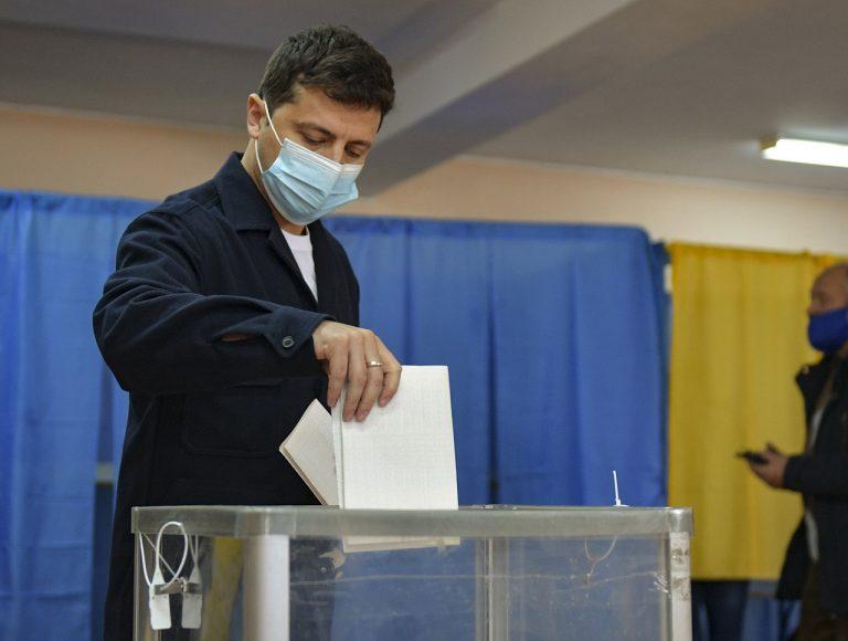 Komunálne voľby na Ukrajine
