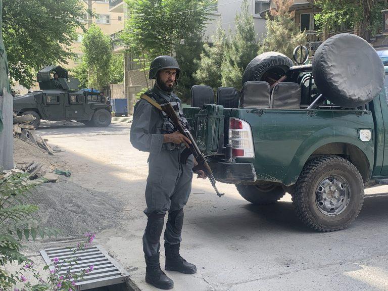 Afganský policajt