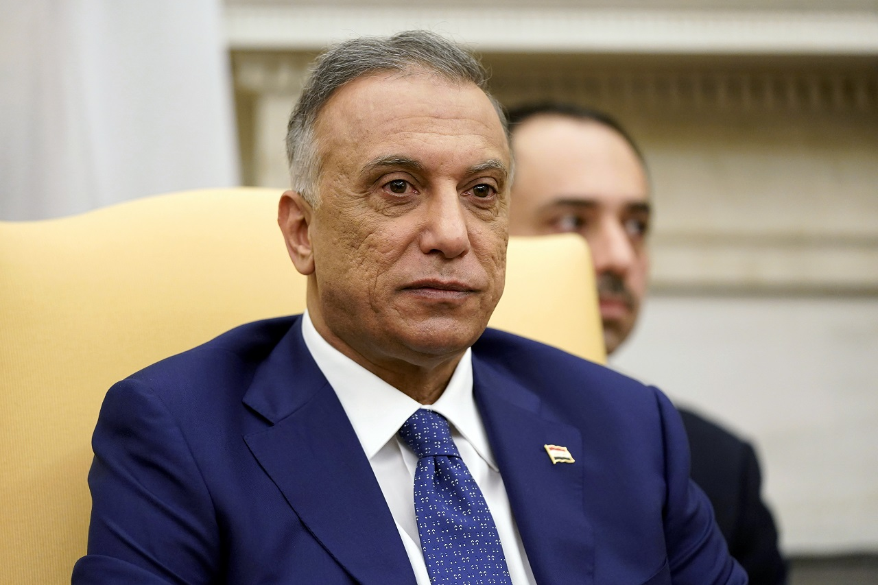 iracký premiér Mustafa Kázimí