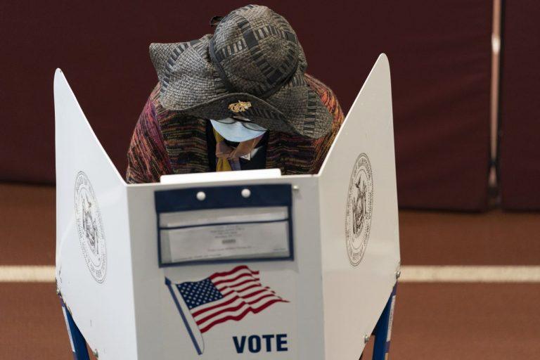 Predčasné hlasovanie voľby USA